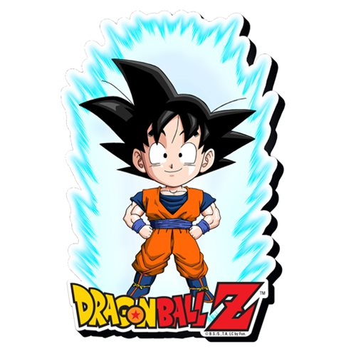 Dragon Ball Z Goku Youth Funky Chunky Magnet