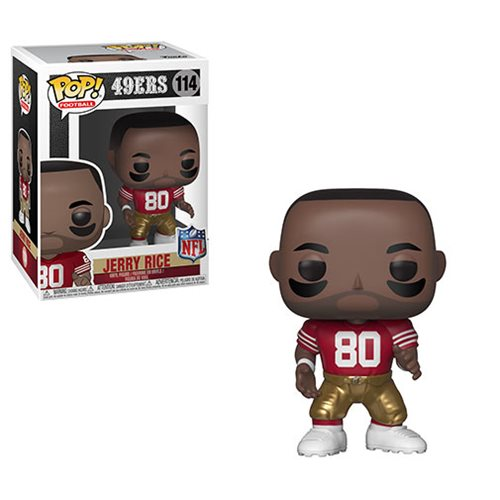 NFL Legends Jerry Rice Pop! Vinyl Figure #114