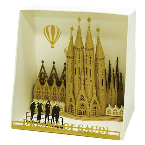 Sagrada Familia Paper Nano Model Kit