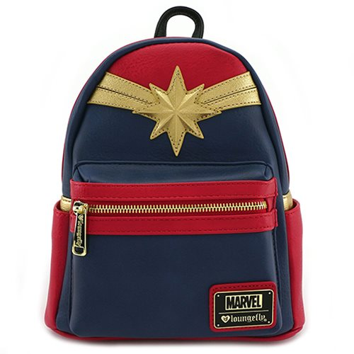 Captain Marvel Mini Cosplay Backpack