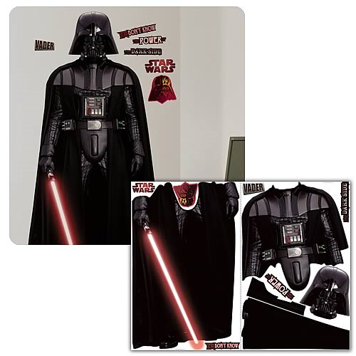 Star Wars Classic Darth Vader Peel and Stick Giant Applique