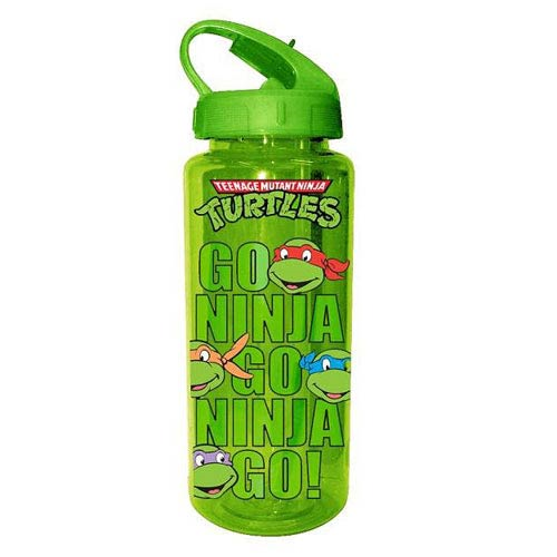 Teenage Mutant Ninja Turtles Go Ninja Go Ninja Go Plastic Water Bottle
