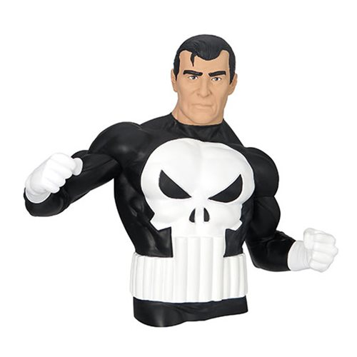 The Punisher Comic PVC Bust Bank