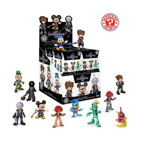 Kingdom Hearts 3 Mystery Minis Display Case