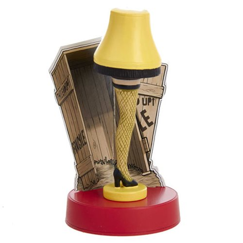 A Christmas Story Leg Lamp 4 1/2-Inch Tablepiece Decoration