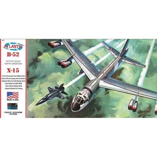Boeing B-52 with X-15 1:175 Scale Plastic Model Kit