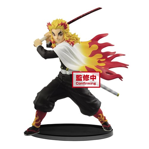 Demon Slayer: Kimetsu no Yaiba Kyojuro Rengoku Vibration Stars Statue