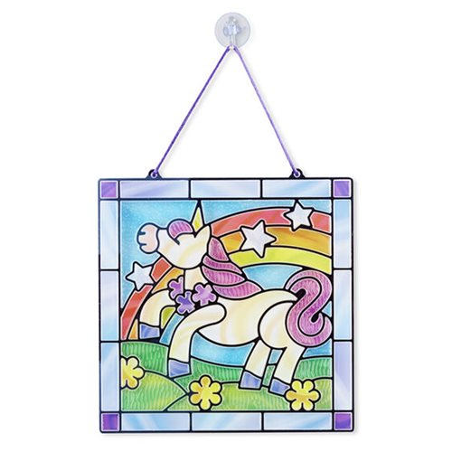 Melissa & Doug Stained Glass Made Easy Unicorn