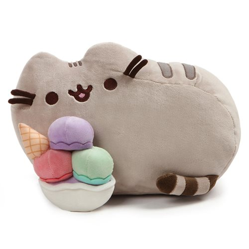 Pusheen the Cat Snackable Sundae 12-Inch Plush