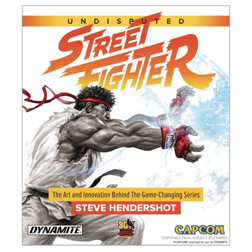 Undisputed Street Fighter Hardcover Book