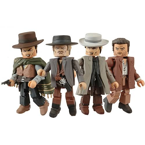 The Good, the Bad, and the Ugly Minimates Box Set