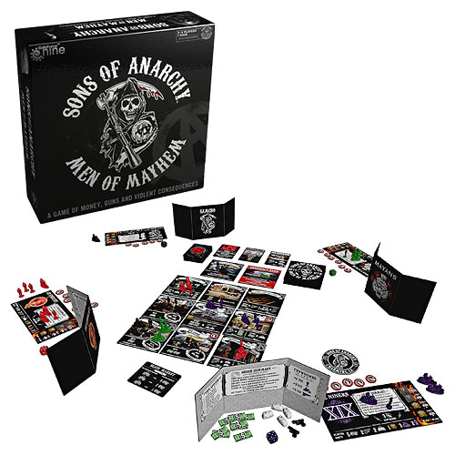 Sons of Anarchy Men of Mayhem Board Game