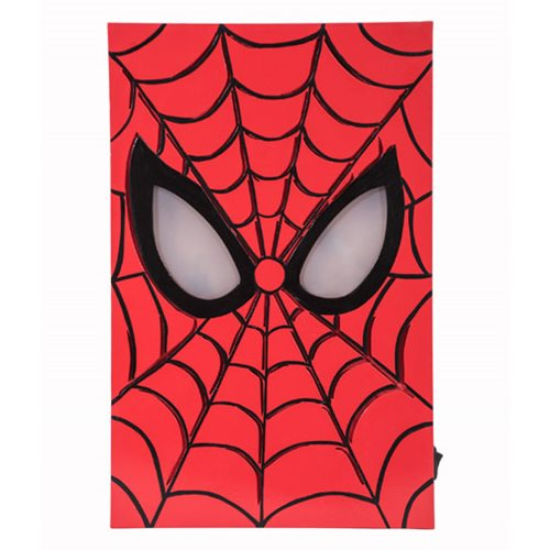 Spider-Man LED Light-Up Box Art