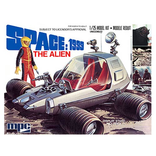 Space 1999 The Alien Moon Buggy 1:25 Scale Model Kit