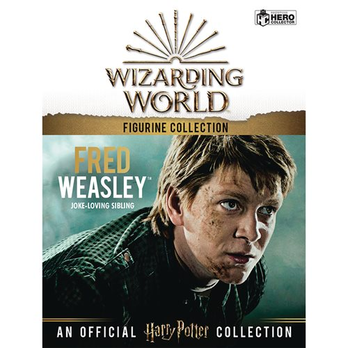 Harry Potter Wizarding World Collection Fred Weasley Figure with Collector Magazine