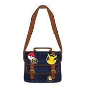 Pokemon Pikachu Patches Messenger Purse