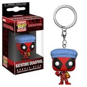 Deadpool Playtime Deadpool Bath Time Pocket Pop! Key Chain