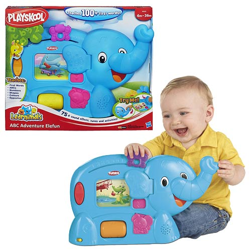 Playskool Learnimals ABC Adventure Elefun Toy