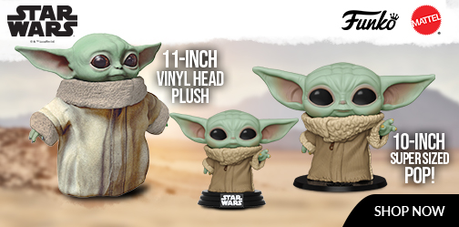 Baby Yoda The Child Funko and Plush