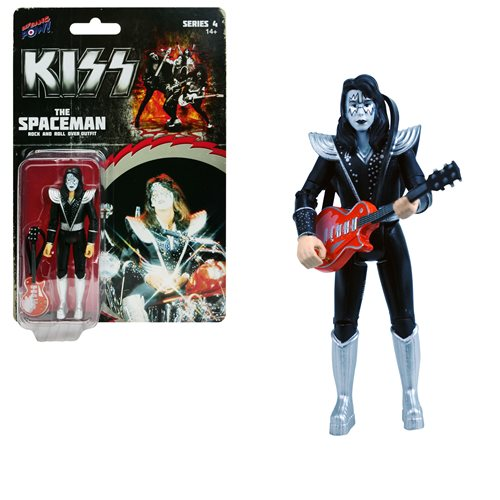KISS Rock and Roll Over The Spaceman 3 3/4-Inch Action Figure Series 4