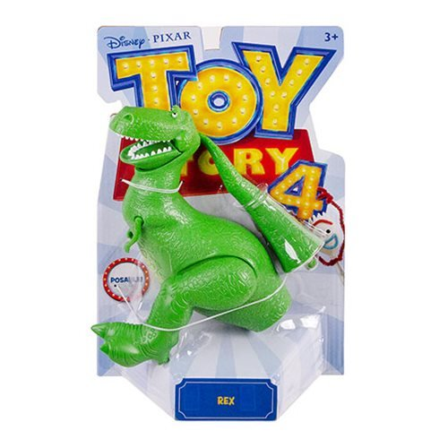 Toy Story 4 Rex Basic 7-Inch Action Figure