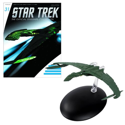 Star Trek Starships The Valdore Vehicle with Collector Magazine