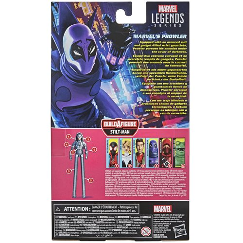 Spider-Man Marvel Legends 6-Inch Marvel's Prowler Action Figure