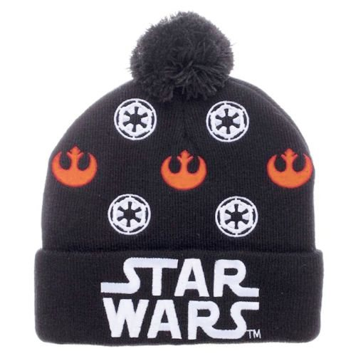 Star Wars Logos Pom Beanie Hat