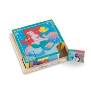 Disney Princesses Wooden Cube Puzzle