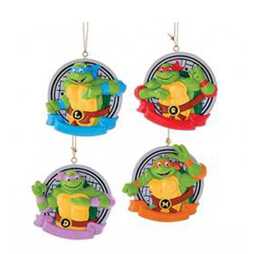 TMNT 3-Inch Personalization Ornament Set