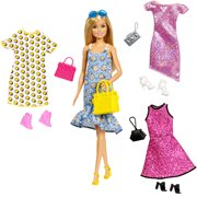 Barbie Party Fashion and Caucasian Doll Set
