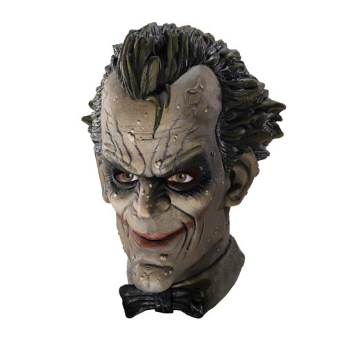 Batman Arkham City Joker Deluxe Latex Mask