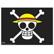 One Piece Straw Hat Pirates Flag Wall Scroll