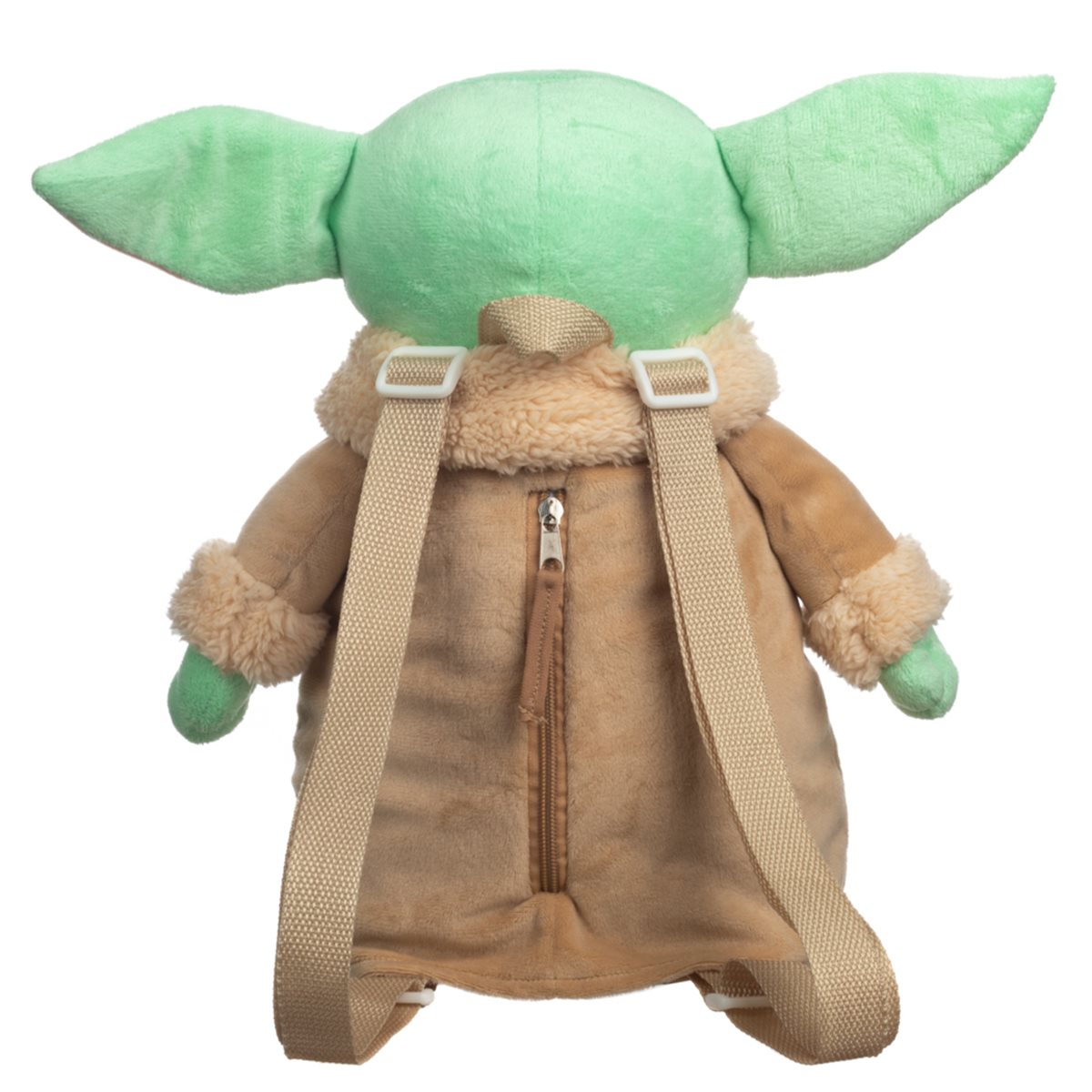 Star Wars The Child Baby Yoda Head Shaped Plush Backpack 14-16