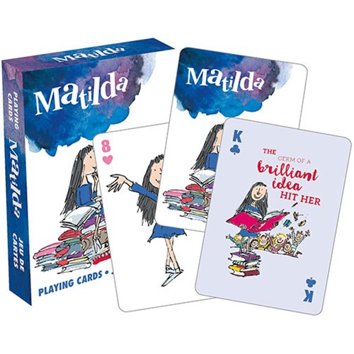 Roald Dahl Matilda Playing Cards