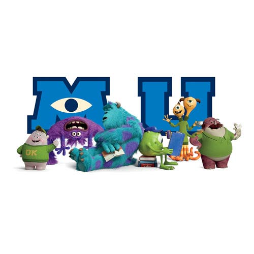 Monsters University Giant Character Collage Wall Decal