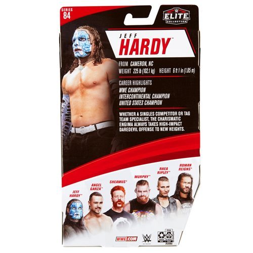 WWE Elite Collection Series 84 Jeff Hardy Action Figure