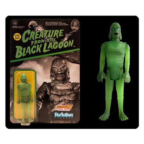 Universal Monsters Creature From The Black Lagoon Glow In The Dark ReAction Figure - NYCC Exclusive