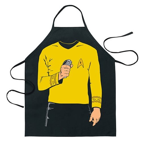 Star Trek Captain Kirk Be the Character Apron