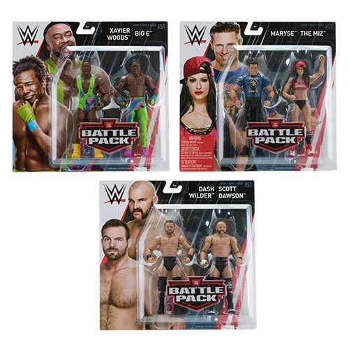 WWE Basic 2-Pack Series 51 Action Figure Set