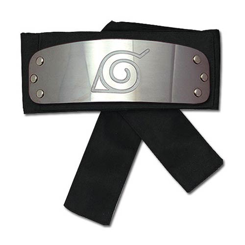 Naruto Shippuden Naruto Leaf Village Black Headband