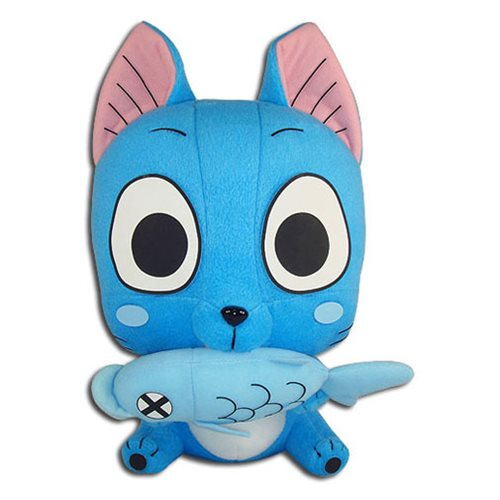 Fairy Tail Happy Eating Fish 10-Inch Plush