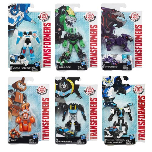 Transformers Robots in Disguise Legion Wave 4 Rev. 1  Case