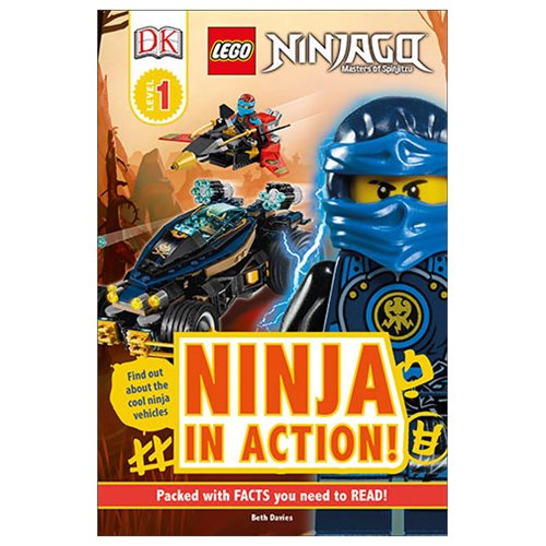 LEGO Ninjago Ninja in Action DK Readers 1 Hardcover Book
