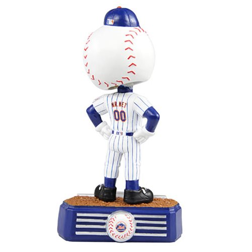 MLB New York Mets Mr. Met Mascot Stadium Lights Bobble Head