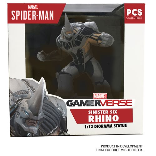 Marvel Gamerverse Rhino 1:12 Scale Statue