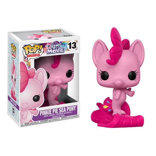 My Little Pony Movie Pinkie Pie Sea Pony Pop! Vinyl Figure