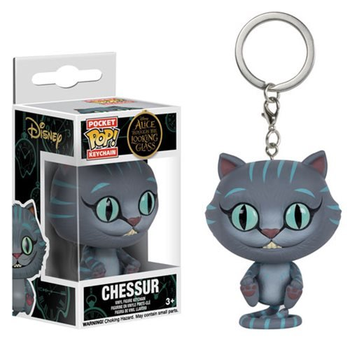 Alice Through the Looking Glass Chessur Cat Pocket Pop! Key Chain