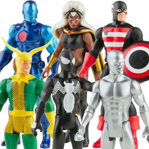 Marvel Legends Retro Collection Action Figures Wave 4 Case