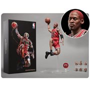 NBA Collection Dennis Rodman Motion Masterpiece 1:9 Scale Action Figure